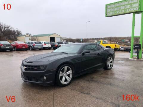2010 Chevrolet Camaro for sale at Independent Auto in Belle Fourche SD