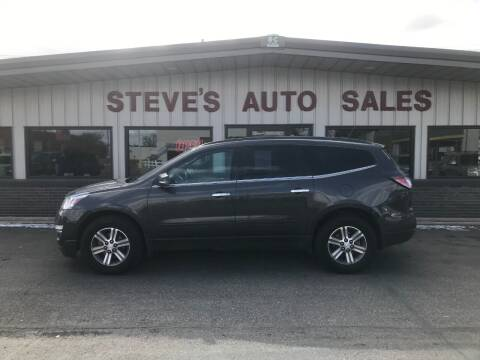 2016 Chevrolet Traverse for sale at STEVE'S AUTO SALES INC - Regular Inventory in Scottsbluff NE