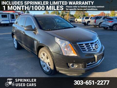 2014 Cadillac SRX for sale at Sprinkler Used Cars in Longmont CO