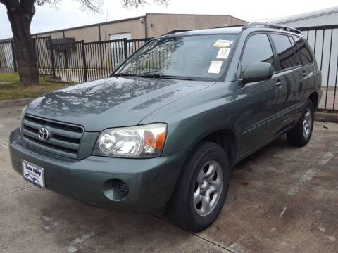 2006 Toyota Highlander for sale at Auto Haus Imports in Grand Prairie TX