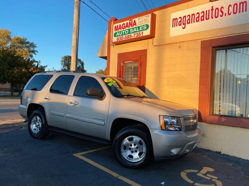 2008 Chevrolet Tahoe for sale at Magana Auto Sales Inc in Aurora IL