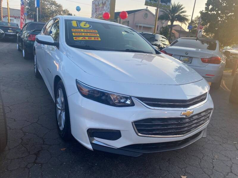 2016 Chevrolet Malibu for sale at Crown Auto Inc in South Gate CA