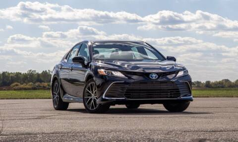 2021 Toyota Camry for sale at Econo Auto Sales Inc in Raleigh NC