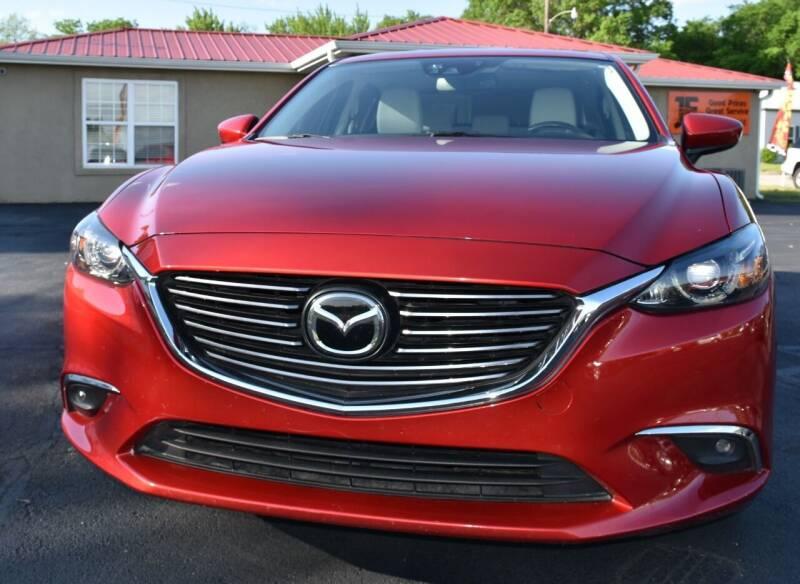 2016 Mazda MAZDA6 for sale at JE AUTO SALES LLC in Webb City MO
