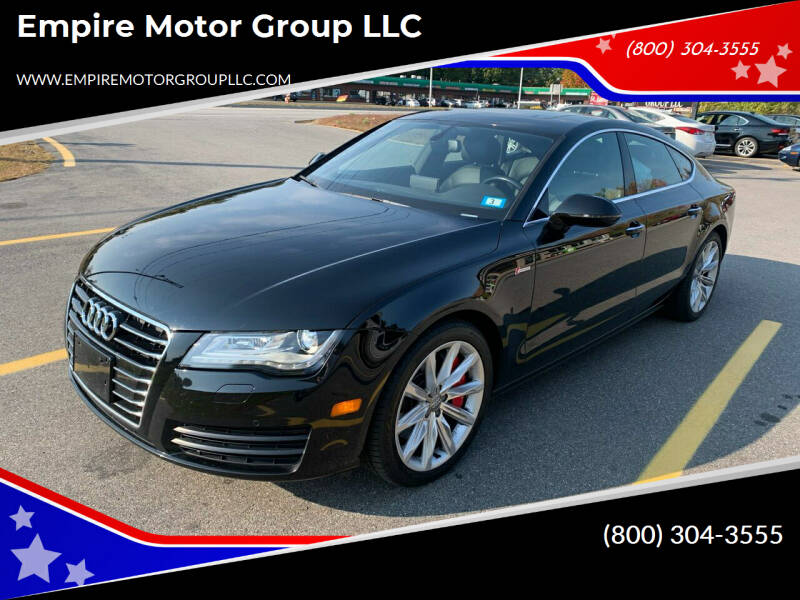 2014 Audi A7 for sale at Empire Motor Group LLC in Plaistow NH