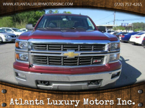 2014 Chevrolet Silverado 1500 for sale at Atlanta Luxury Motors Inc. in Buford GA