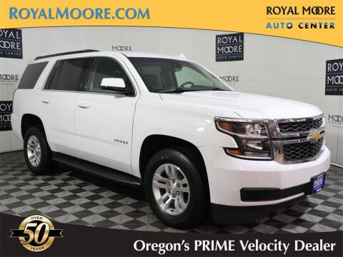 2020 Chevrolet Tahoe for sale at Royal Moore Custom Finance in Hillsboro OR