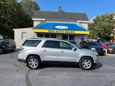 2013 GMC Acadia for sale at EEE AUTO SERVICES AND SALES LLC in Cincinnati OH