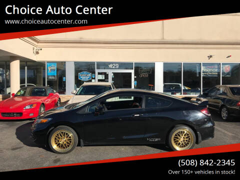 2015 Honda Civic for sale at Choice Auto Center in Shrewsbury MA