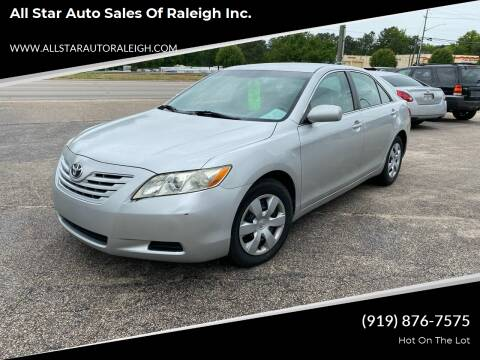 2009 Toyota Camry for sale at All Star Auto Sales of Raleigh Inc. in Raleigh NC
