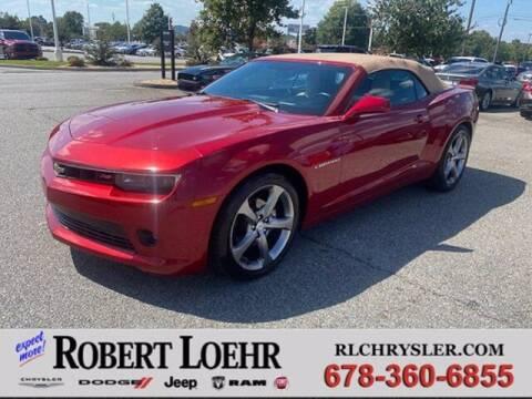2014 Chevrolet Camaro for sale at Robert Loehr Chrysler Dodge Jeep Ram in Cartersville GA