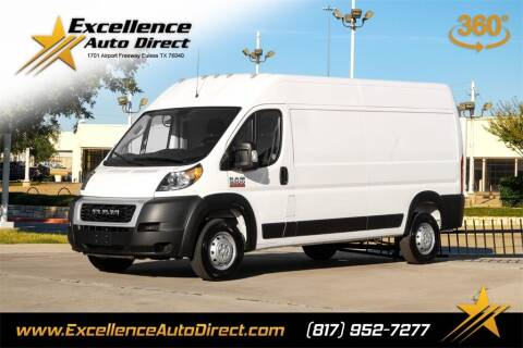 2021 RAM ProMaster Cargo for sale at Excellence Auto Direct in Euless TX