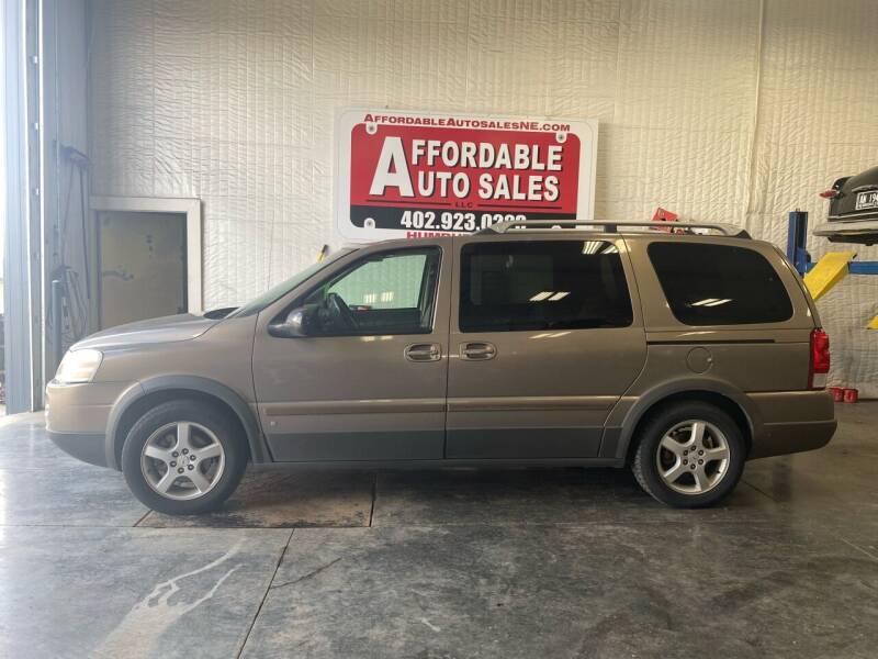 2006 Pontiac Montana SV6 for sale at Affordable Auto Sales in Humphrey NE