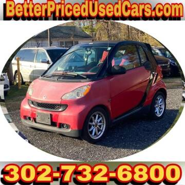 2009 Smart fortwo for sale at Better Priced Used Cars in Frankford DE