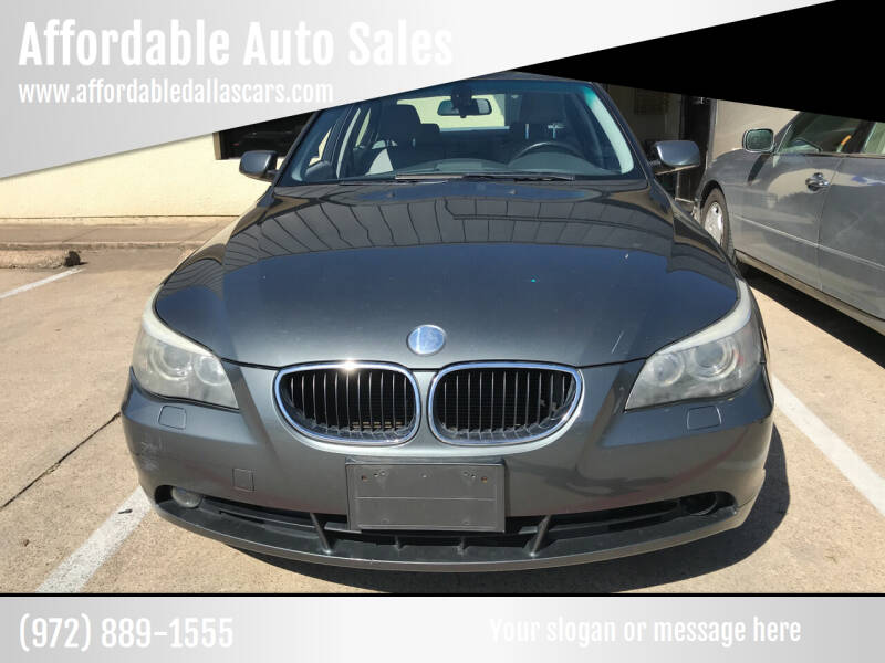 2006 BMW 5 Series for sale at Affordable Auto Sales in Dallas TX