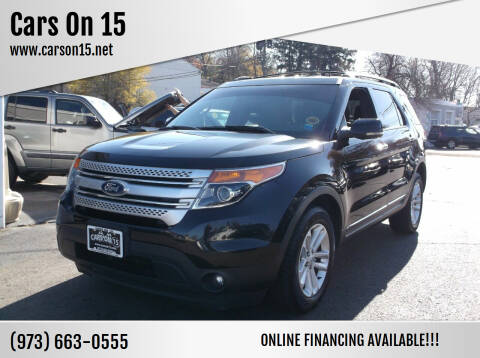 2012 Ford Explorer for sale at Cars On 15 in Lake Hopatcong NJ