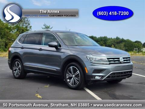 2018 Volkswagen Tiguan for sale at The Annex in Stratham NH