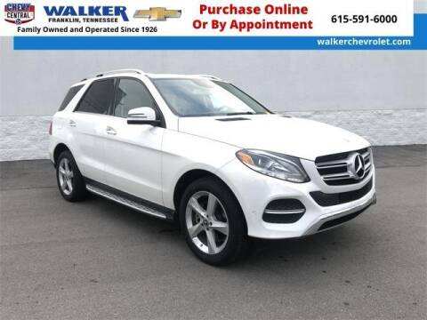 2018 Mercedes-Benz GLE for sale at WALKER CHEVROLET in Franklin TN