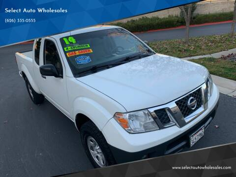 2014 Nissan Frontier for sale at Select Auto Wholesales in Glendora CA