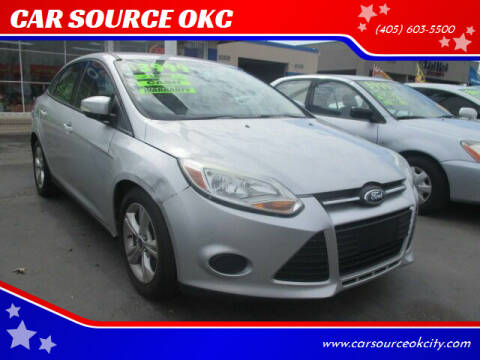 2013 Ford Focus for sale at CAR SOURCE OKC in Oklahoma City OK