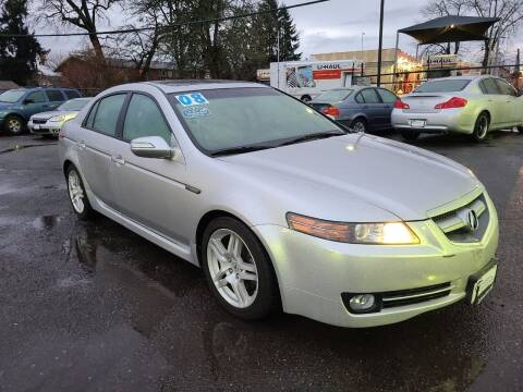 2008 Acura TL for sale at Universal Auto Sales in Salem OR