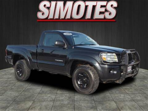 2006 Toyota Tacoma for sale at SIMOTES MOTORS in Minooka IL