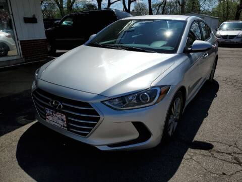 2017 Hyundai Elantra for sale at New Wheels in Glendale Heights IL