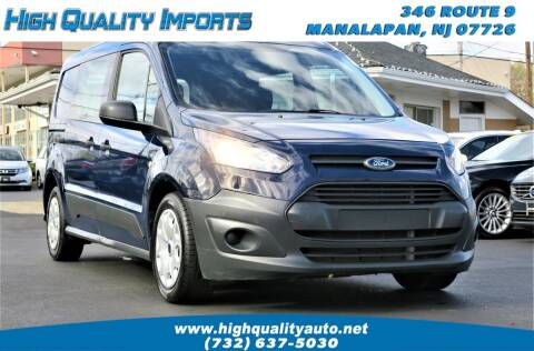 2016 Ford Transit Connect Cargo for sale at High Quality Imports in Manalapan NJ