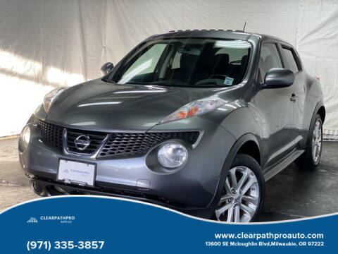 2013 Nissan JUKE for sale at CLEARPATHPRO AUTO in Milwaukie OR