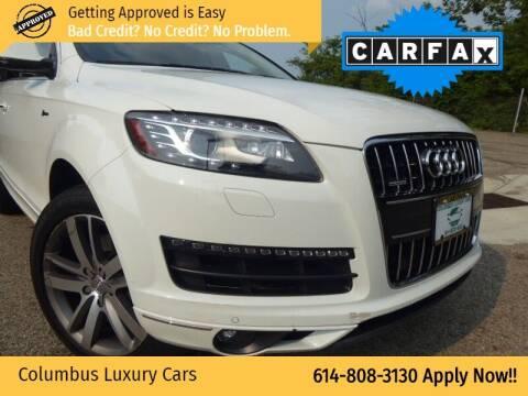2015 Audi Q7 for sale at Columbus Luxury Cars in Columbus OH