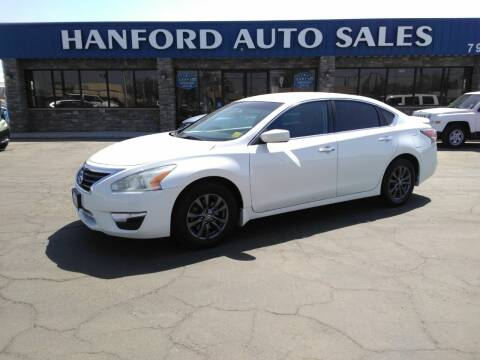 2015 Nissan Altima for sale at Hanford Auto Sales in Hanford CA