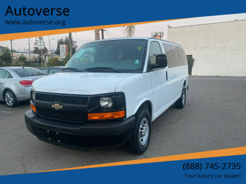 2015 Chevrolet Express Passenger for sale at Autoverse in La Habra CA
