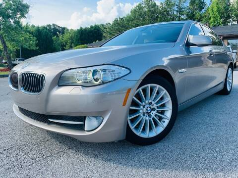 2012 BMW 5 Series for sale at Classic Luxury Motors in Buford GA