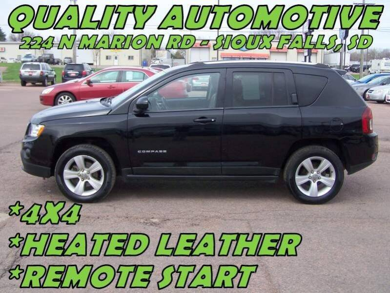 2014 Jeep Compass for sale at Quality Automotive in Sioux Falls SD