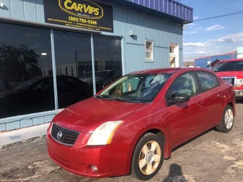 2009 Nissan Sentra for sale at CAR VIPS ORLANDO LLC in Orlando FL