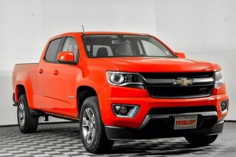 2017 Chevrolet Colorado for sale at Washington Auto Credit in Puyallup WA
