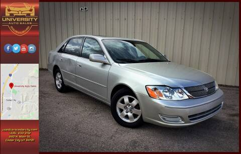 2001 Toyota Avalon for sale at University Auto Sales in Cedar City UT