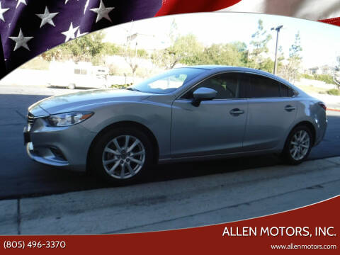 2014 Mazda MAZDA6 for sale at Allen Motors, Inc. in Thousand Oaks CA