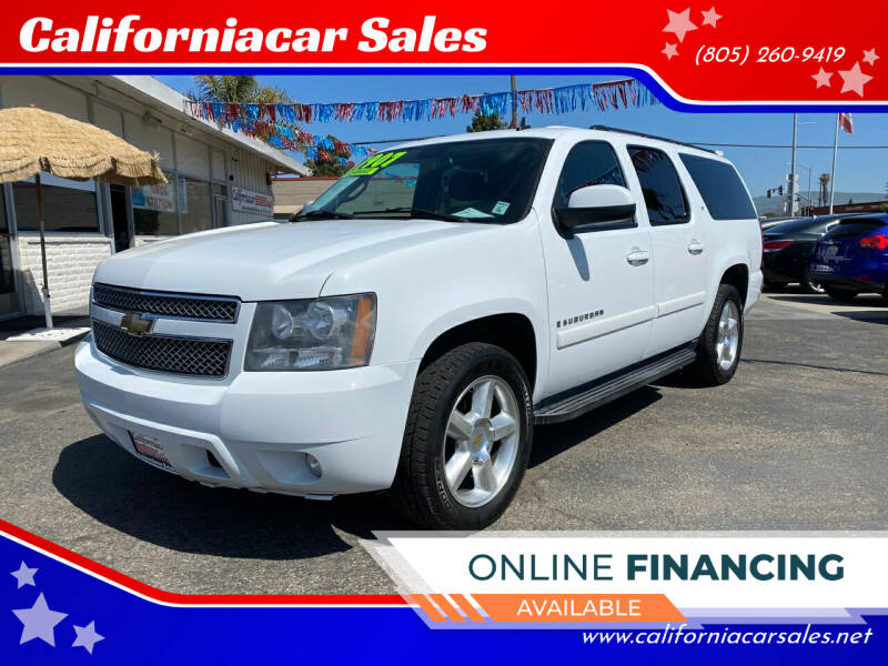 2007 Chevrolet Suburban for sale at Californiacar Sales in Santa Maria CA