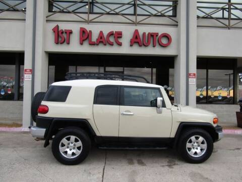 2008 Toyota FJ Cruiser for sale at First Place Auto Ctr Inc in Watauga TX