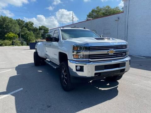 2018 Chevrolet Silverado 3500HD for sale at LUXURY AUTO MALL in Tampa FL