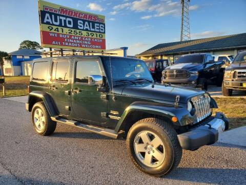 2012 Jeep Wrangler Unlimited for sale at Mox Motors in Port Charlotte FL