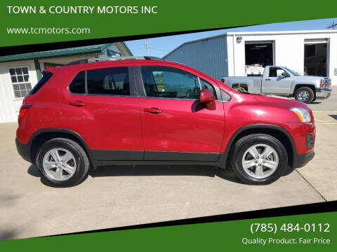 2015 Chevrolet Trax for sale at TOWN & COUNTRY MOTORS INC in Meriden KS