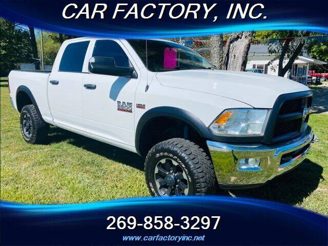 2018 RAM Ram Pickup 2500 for sale at Car Factory Inc. in Three Rivers MI