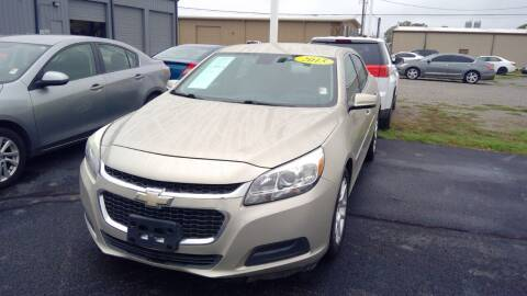 2015 Chevrolet Malibu for sale at Nelson Car Country in Bixby OK
