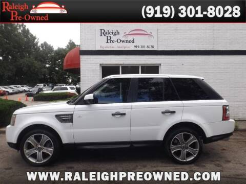 2011 Land Rover Range Rover Sport for sale at Raleigh Pre-Owned in Raleigh NC