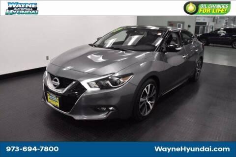 2017 Nissan Maxima for sale at Wayne Hyundai in Wayne NJ
