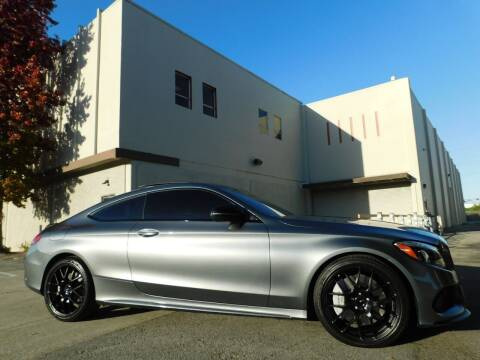 2017 Mercedes-Benz C-Class for sale at Conti Auto Sales Inc in Burlingame CA