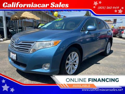 2009 Toyota Venza for sale at Californiacar Sales in Santa Maria CA