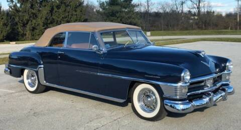 1951 Chrysler New Yorker for sale at Classic Car Deals in Cadillac MI